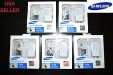 5X OEM Samsung Travel Adapter Adaptive Fast Charger Retail Box 4 S6 S7