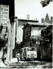 Original Vintage RENAULT ESTAFETTE Van B&W Press Photo France 1960's