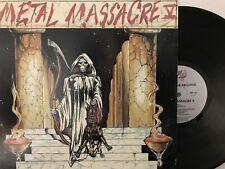 Various – Metal Massacre V LP 1984 Metal Blade Records – MBR 1021 NM/NM