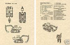 Transformers SCAVENGER Patent Art Print READY TO FRAME!! G1 Devastator Deere 690