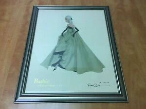"""Robert Best BARBIE Collection Framed Signed Print 1837 of 5000 overall 18"""" x 22"""""""