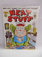 Neat Stuff Comic Book Magazine by Peter Bagge Girly-Girl & The Bradleys