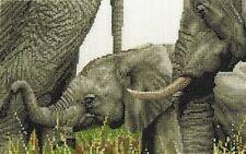 DMC Cross Stitch Kit - Safari Animals Collection - Always By My Side BK1664