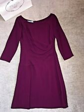Stunning 1750 GBP worth PRADA crepe dress IT size 42/Int M/UK 10/US 6 new unworn