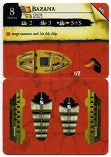 Wizkids Pirates Pocketmodel - Bazana (ship) RotF 045 C