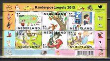 Nederland 3362 Blok Kinderzegels 2015 kinderen en voorleesboekjes