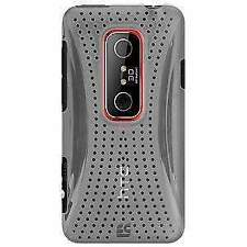 NEW CLEAR MESH HARD SHELL CASE BACK COVER FOR HTC EVO 3D, HTC EVO V 4G