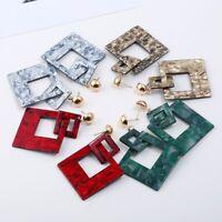 Fashion Women Acrylic Earring Geometric Drop Dangle Earrings Jewelry Summer Gift