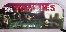 FLESH EATING ZOMBIES GLOW in the DARK SET of 9 FIGURES, UNDEAD TOY