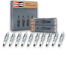 10 pc Champion Double Platinum Spark Plugs for 1992-2006 Dodge Viper - Pre dz