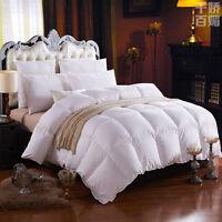 LUXURIOUS 1000TC HUNGARIAN GOOSE DOWN Comforter BAFFLE BOX  TWIN FULL QUEEN KING