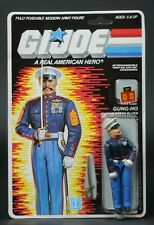 1987 Hasbro GI Joe Series 6 Gung-Ho Marine Dress Blues 34 Back MOC Sealed