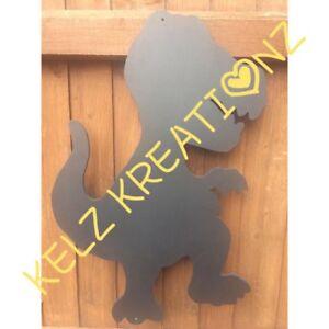 Children's Outdoor Dinosaur Chalkboard Garden Handmade  School Nursery