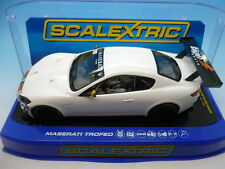 Scalextric Pre Production Maserati Trofeo final decoration sample white