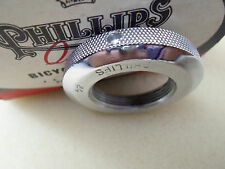 """Vintage NOS Bicycle Phillips Head fittings 1"""" X 24t Expander screw races Chrome"""