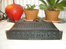 TOA A-506A, 5 Channel Mixer Power Amplifier, with Equalizer, Eq, Vintage Rack