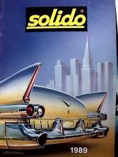 Catalogo SOLIDO Model Cars 1989 - Tr.17