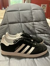 ADIDAS ORIGINALS GAZELLE Mens Sneakers - Black/White (BB5476) - Size 9