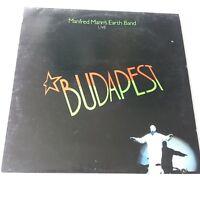 Manfred Mann's Earth Band - Live Budapest Vinyle LP+Inner GB 1st Press Ex+