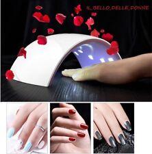 Fornetto Uv Led 48w Professionale Per Gel,Manicure,colata.Lampada Mani tips 3d