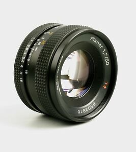 Zeiss Contax 50mm F1.7 Planar for CY mount in A condition.