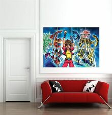 More details for bakugan battle brawlers anime manga japan giant wall new poster art print