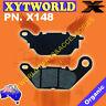 FRONT Brake Pads for Yamaha YBR 125 Custom 2008-2013