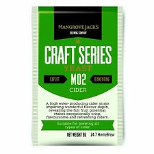 Mangrove Jack's Yeast Cider M02 Craft Series Yeast 9g treats 23L
