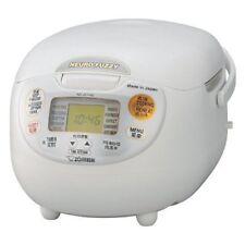 ZOJIRUSHI Rice Cooker NS-ZLH10-WZ 0.9L (5gou) AC220V-230V Brand NEW
