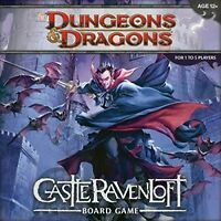 D&D Castle Ravenloft Board Game Dungeons & Dragons NEW IN BOX!