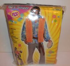 Forum Mod 60's Singer Costume Men's Fits Up To A Chest Size 42