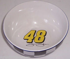 Jimmie Johnson Cereal Bowl Ceramic 2004