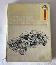 Austin Allegro 1100 and 1300 1973-82 Owner's Workshop Haynes Manual 164