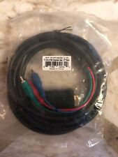 Insten POTHVGARGBX2 VGA to RGB Component Cable 12ft Black