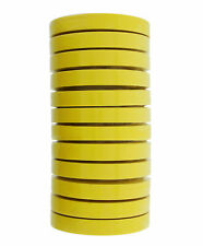 Carworx 134.830 Yellow Automotive Waterbourne Masking Tape 3/4 in - 12 Pack