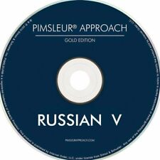 Pimsleur Russian V (Level 5) 16 CD's complete set