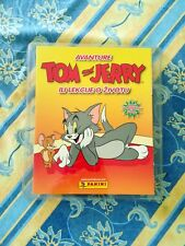 Panini TOM AND JERRY empty album + complete set stickers 1-180 A-X