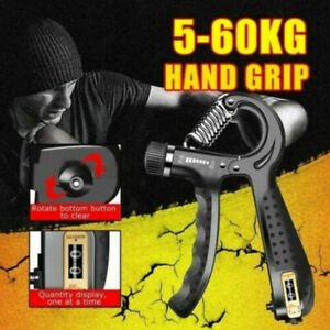 Hand Grip Strength Power Trainer Gripper Strengthener Adjustable Gym