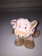 WEBKINZ GANZ FLOPPY PIG PLUSH SOFT STUFFED ANIMAL TOY #HM184
