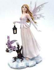 More details for night messenger fairy and dragon companion sculpture statue mythical creatures