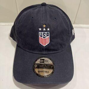 New Era Team USA Olympics Soccer 9Twenty USWNT USMNT Adjustable Adult Hat Cap