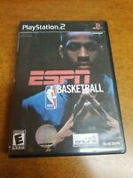 ESPN NBA Basketball (Sony PlayStation 2, 2003)(Tested)