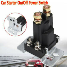DC12V 500A Car Truck 4Pins Battery Isolator Relay Start Switch Kit ProfessionalC