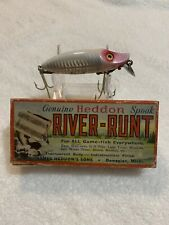 Heddon River Runt Fishing Lure 9400 Xrw In Correct Box Mint With Paperwork
