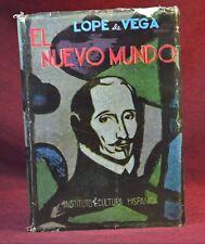 El Nuevo Mundo Lope de Vega Hispanic Instituto Cultura INSCRITA  Entrambasaguas