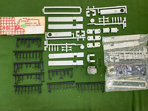 3 Stewart Hobbies HO Alco RS-3 Phase II Kit Parts – Undecorated