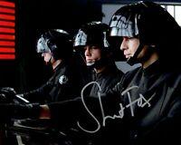 STUART FOX signed Autogramm 20x25cm STAR WARS In Person autograph DEATH STAR
