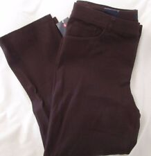 """Ladies """"Chaps"""" Size 4R, Rider Brown, Slimming Fit, Straight Leg, Stretch Jeans"""