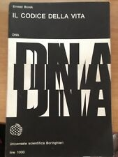 ERNEST BOREK - IL CODICE DELLA VITA - BORINGHIERI 1966
