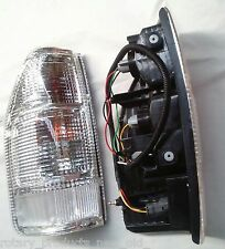 ISUZU D MAX D-MAX 2002 - 2007 CLEAR LENS TAIL LIGHTS STYLE SIDE TUB CAB IS065